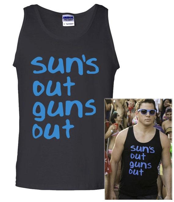 Channing Tatum 22 Jump Street Suns Out Guns Out