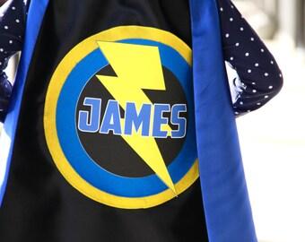 Boys Full Name SUPERHERO CAPE - PERSONALIZED Cape - Superhero Party - Hero gift - Ships fast - Easter Ready