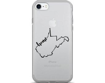 West Virginia Home State - iPhone Case (iPhone 7/7 Plus, iPhone 8/8 Plus, iPhone X)