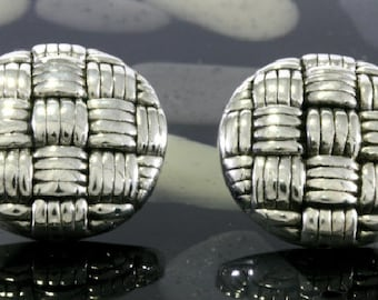 Studs, big and round , electroforming - 3120