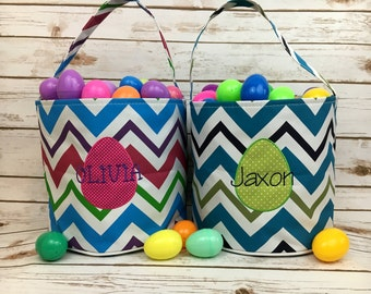 Easter basket, Personalized Easter Basket, monogram easter basket, girls basket, boys basket, girls easter basket, monogram, chevron, easter