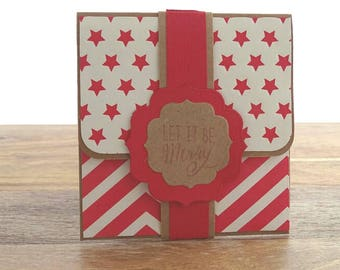 Christmas money envelope, Money envelopes, Christmas gift packaging, Christmas gift card holder, Money holders, Envelopes for money gift