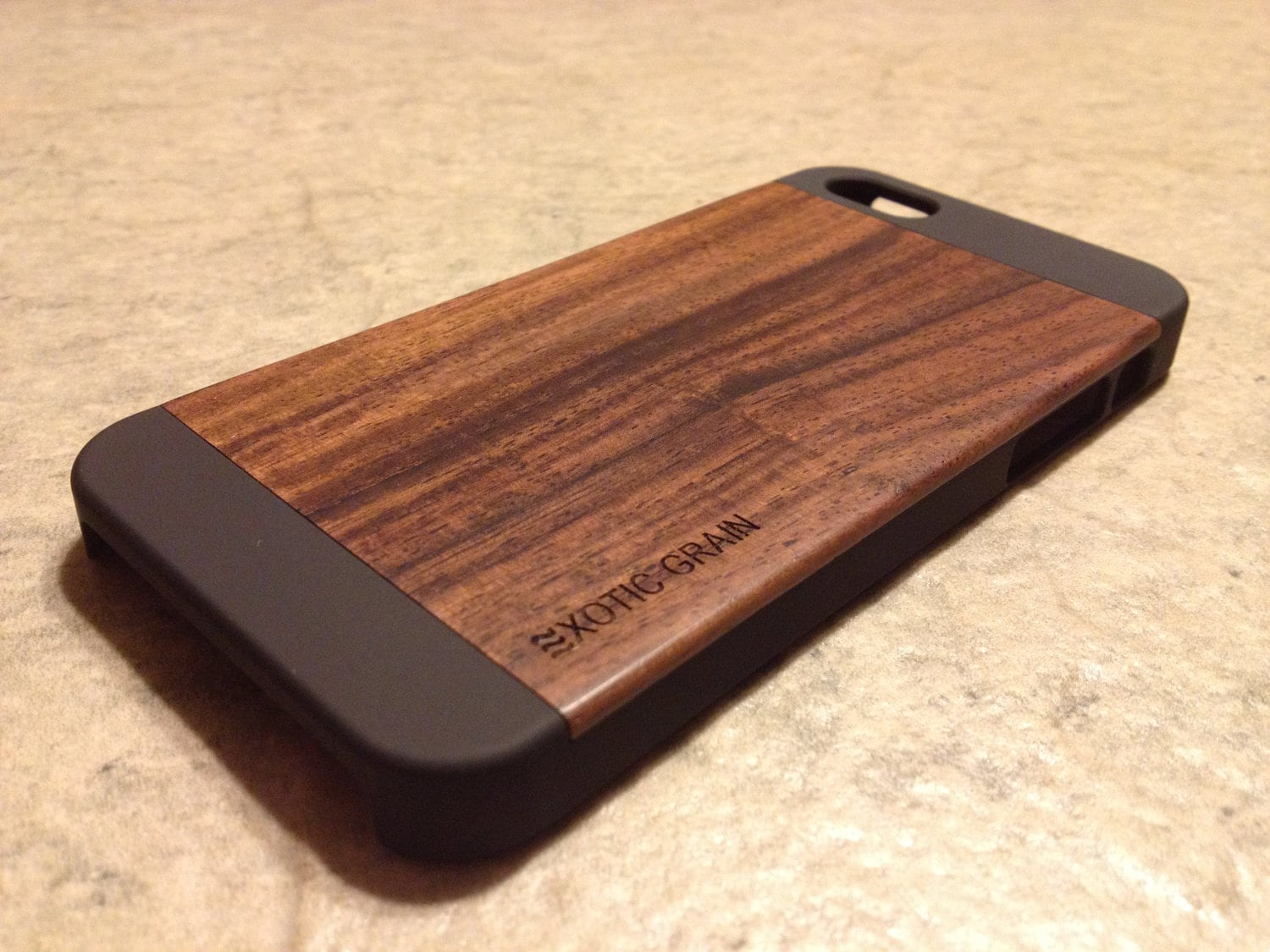 iphone 5s wood case iphone 5 5s real wood rich polished bois de 3503