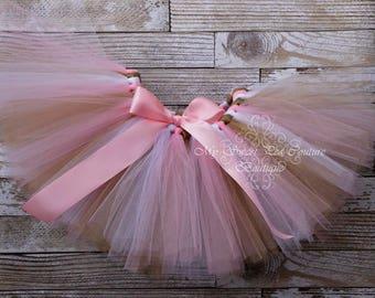 Pink, Gold & White Tutu- Princess Tutu- Cake Smash Tutu- Tutu- Baby Tutu- Toddler Tutu- Birthday Tutu- First Birthday Tutu- Photo Prop