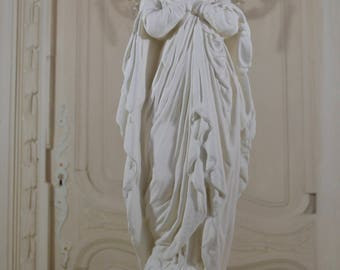 19th Century French XLarge Mother Mary Statue - Rare Antique Mother MaryStatue,Assumption Mary Statue, French Nordic, French Catholic