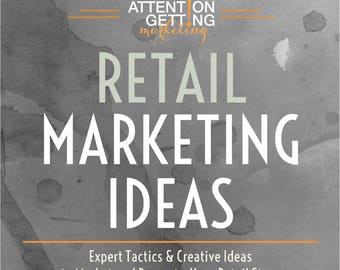 Retail Store Marketing Ideas Ebook