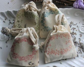 Lavender Sachets - Pure Lavender Buds 1/4 Cup Bag
