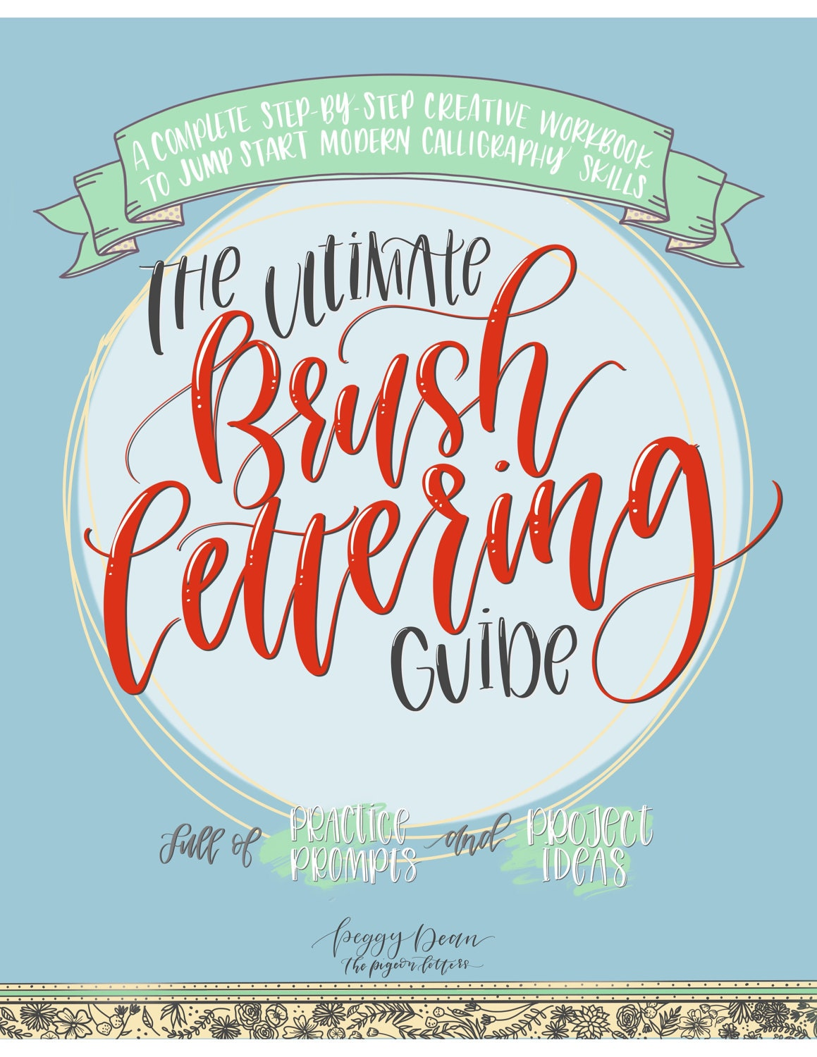 eBook PDF Download The Ultimate Brush Lettering Guide: