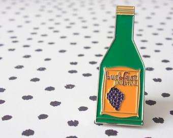 Buckfast Enamel Pin Brooch Badge