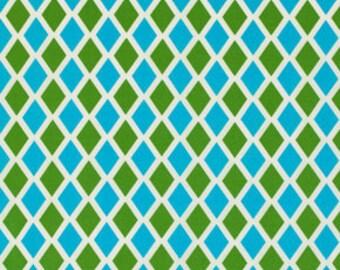 1 yard - Jennifer Paganelli - Happy Land Madison Blue PWJP070