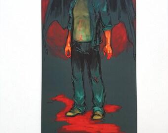 Dean Winchester. Demon