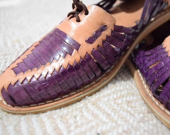 Huarache handmade / Mexican sandal / leather shoes /
