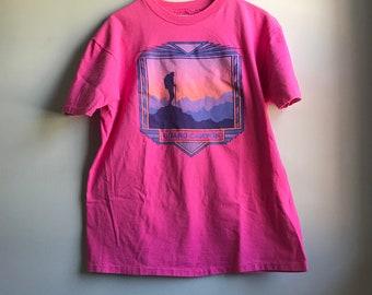 80s Grand Canyon Pink T-shirt -