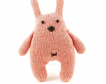 Chester the Bashful Bunny Knitting Pattern Pdf INSTANT DOWNLOAD