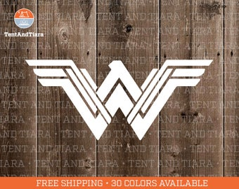 NEW Wonder Woman - Vinyl Decal Car Decal Laptop Decal Phone Decal Yeti Decal Water Bottle Decal Gift for Friend Gal Gadot Justice League