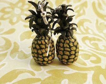 Pineapple earrings!