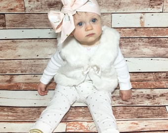Swan Headwrap- Headwrap; Swan Headband; Swan Bow; Baby Headband; Newborn Headband; Infant Headband; Toddler Headband; Girls Adult Headband