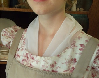 Regency neck scarf, fichu, neckerchief