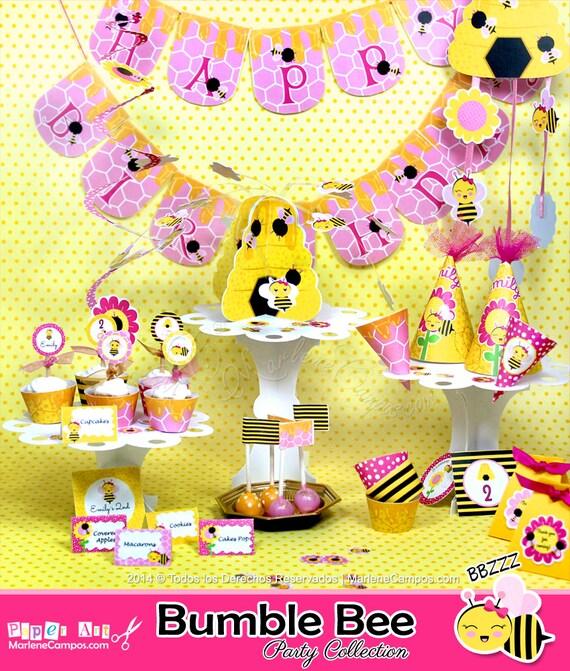 Bumble Bee Birthday Bumble bee baby shower Birthday