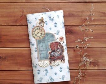 Traveler's Notebook insert / midori journal