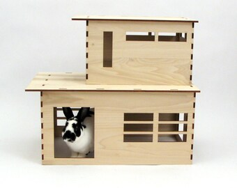 The Modernist play house for rabbits, chinchillas, and small animals