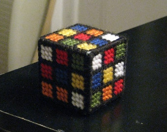 Rubiks Cube Style Cat Toy