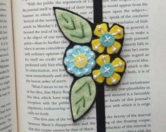 Bookmark - Planner Book Mark - Flower Bookmark - Mothers Day Book Gift - Reader Gift - Teacher Gift - Book Club gift