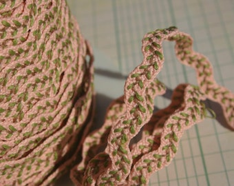 "Peach Vine Rick Rack Trim - Sewing Ric Rac - 1/2"" Wide"