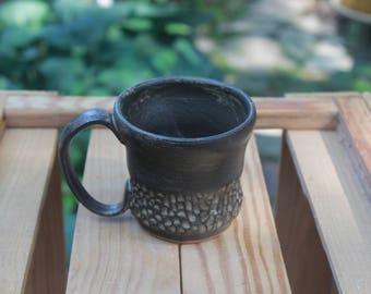 Shino Faceted Pottery Mug