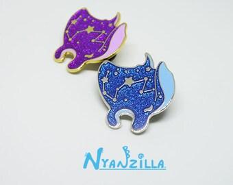 Hard Enamel Pin: Nami the Galaxy Manta Ray