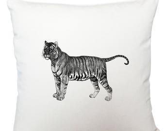 Cushions/ cushion cover/ scatter cushions/ throw cushions/ white cushion/ tiger cushion cover, scatter cushion