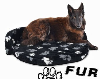 Oval Walled Luxurious Pet Beds For Dogs From S - X-Large Comfortable and Stylish