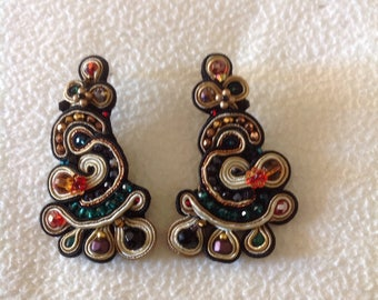 Earrings Baroque