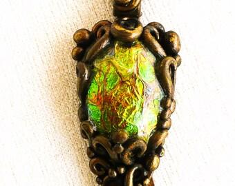 Draconyte Faux Bronze Pendant