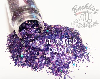 SLUMBER PARTY || Opaque Chunky Glitter Mix, Solvent Resistant