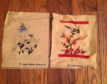 Vintage Sunset Designs Needlework Wool Project