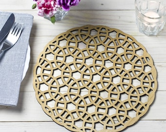 Abstract Circles Place Mats