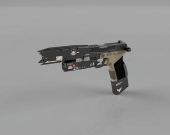 Titanfall 2 Smart Pistol - Model for 3D Printing