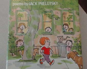 The New Kid on the Block  poetry Jack Prelutsky first edition