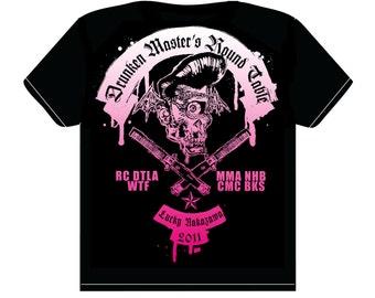 Drunken Master's Round Table T shirt