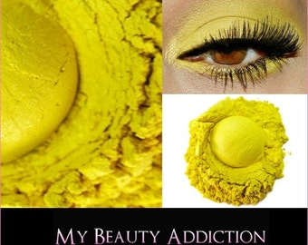 Loose Mineral Eye Shadow-Lemon Drop