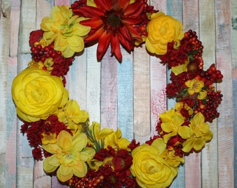 Red Hot Chili Wreath