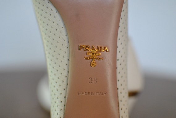 Vintage 081 leather shoes women's PRADA pumps aw8qZ60