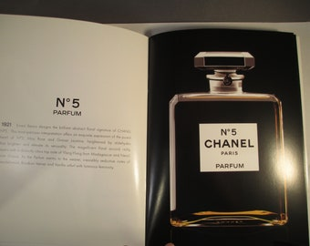 Chanel No. 5 Booklet with Perfume Images for Decoupage, Altered Art, Scrapbooking, Collage and more CHANEL 2008