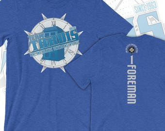 Team TARDIS - Doctor Who Inspired Sports Jersey-Style T-Shirt *w/optional back!