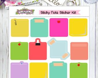 Sticky Note Sticker Kit