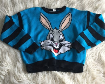 Vintage Bugs Bunny Sweater