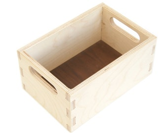 Toy Box - Wooden Toy Box - Handmade - Toy Storage  - Kids Room Decor - Wood Toy