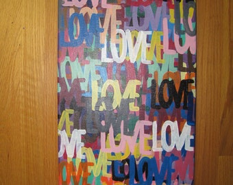 Colorful Love Painting