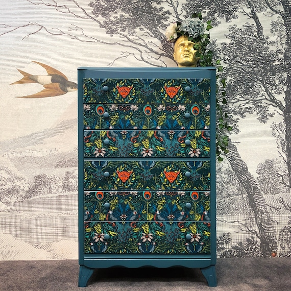 Lebus chest of drawers tallboy